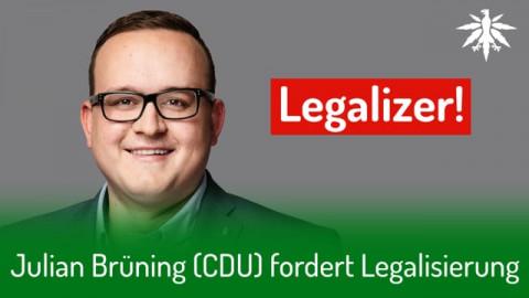 Julian Brüning (CDU) fordert Legalisierung | DHV-News #278