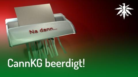 Bundestag beerdigt Cannabiskontrollgesetz der Grünen | DHV News #126