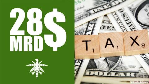 USA: 28 Milliarden Dollar Steuern auf Cannabis möglich | DHV News #80