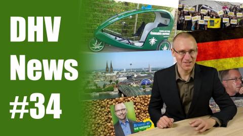 Bürgermeister demonstriert für Legalisierung | DHV News #34