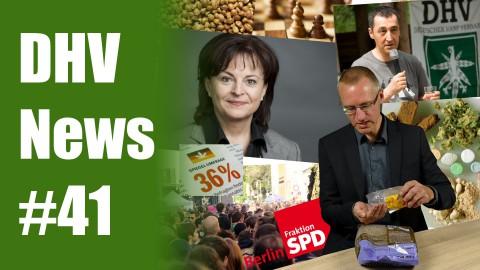 Mortler beleidigt weiter | Darf ganz Friedrichshain-Kreuzberg bald legal kiffen? | DHV News #41