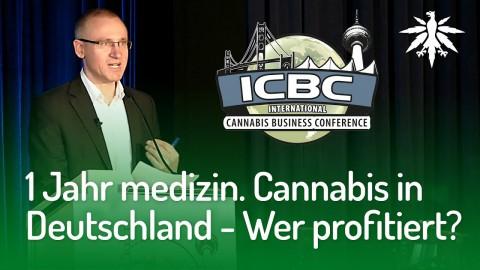 ICBC 2018: 1 Jahr med. Cannabis - Wer profitiert?