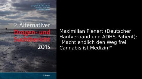 Pressekonferenz Alternativer Drogen- und Suchtbericht 2015