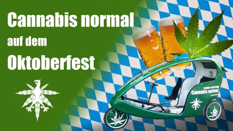 "Hanfverband wirbt auf Oktoberfest: ""Cannabis normal"" 