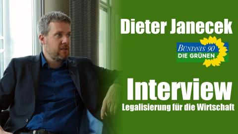 Dieter Janecek (Die Grünen) im Interview   Warum die Legalisierung gut für die Wirtschaft ist