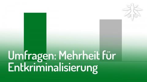 Umfragen: Mehrheit für Entkriminalisierung   DHV News #145