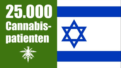 Israel: 25.000 Cannabispatienten | DHV News #74